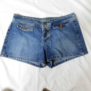 Lei Button Fly Jean Shorts Size 9
